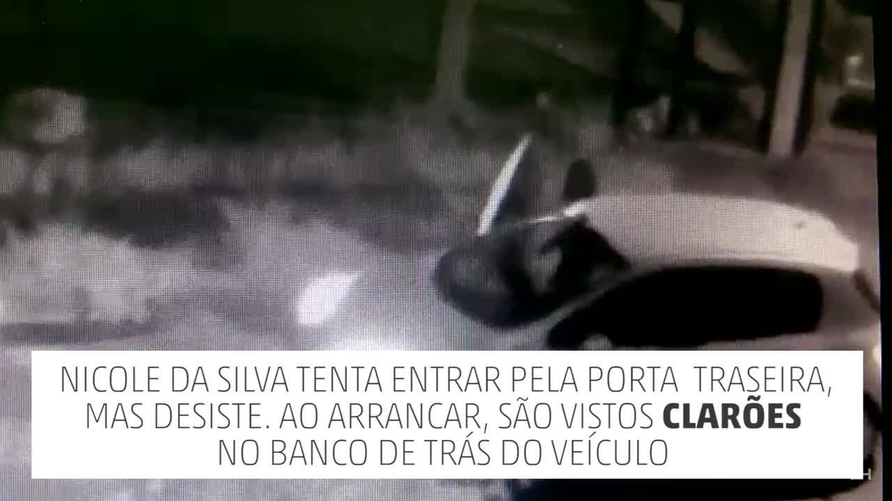 Imagens mostram jovem entrando em carro antes de desaparecer em Cachoeirinha