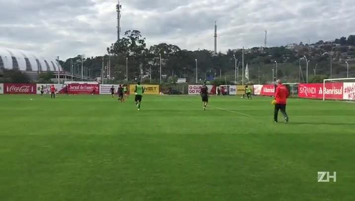 Inter se reapresenta no CT Parque Gigante após empate com o Criciúma