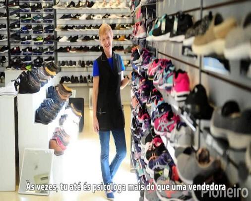 Dia do Trabalho: Rosane é vendedora no comércio de Caxias do Sul