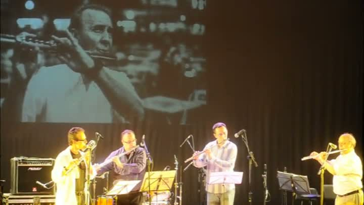 Homenagem ao mestre da flauta