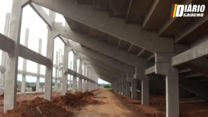 Novo estádio do Esporte Clube Cruzeiro ganha forma