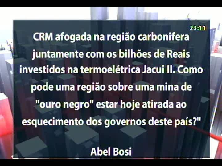 Conversas Cruzadas - Risco de apagões no setor elétrico brasileiro - Bloco 4 - 15/01/2013