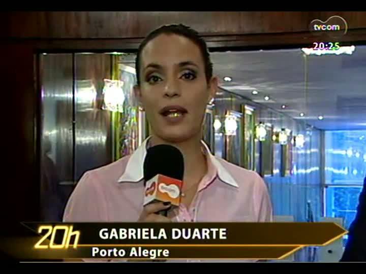 TVCOM 20 Horas - Novo presidente da Assembleia Legislativa - Bloco 3 - 31/01/2013