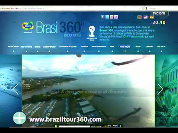 TVCOM Tudo Mais - Projeto Brasil 360º