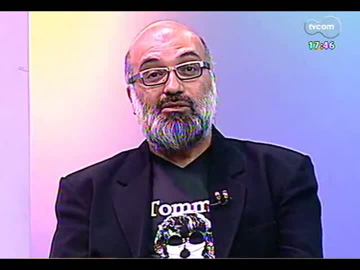 Programa do Roger - Lerina entrevista a artista visual Esther Bianco - bloco 1 - 11/03/2013