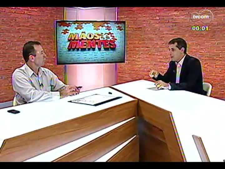 Mãos e Mentes - Presidente da Piá, Gilberto Kny - Bloco 3 - 18/03/2013