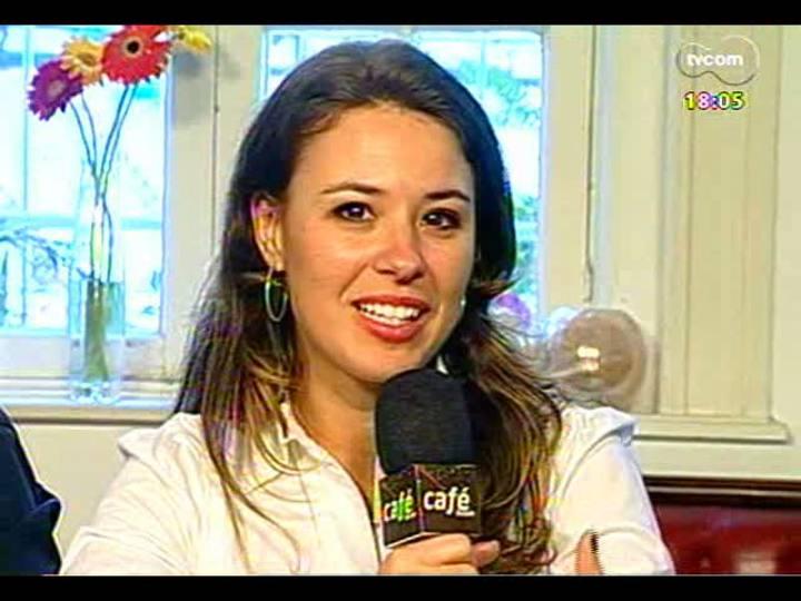 Café TVCOM - Crime dos taxistas de Porto Alegre e Santana do Livramento - Bloco 1 - 20/04/2013
