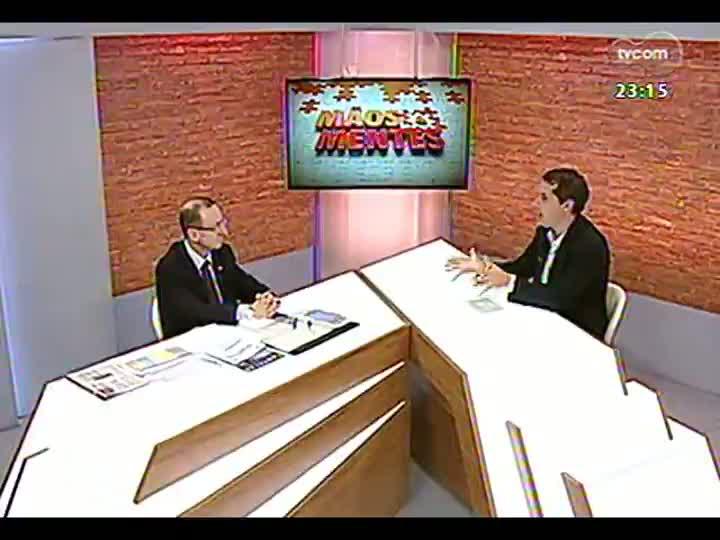 Mãos e Mentes - Presidente do Tribunal de Contas do Estado, Cezar Miola - Bloco 2 - 05/05/2013