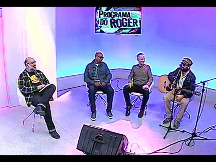 Programa do Roger - Os músicos MV Bill, João Barone e Gustavo Telles conversam com Roger Lerina - bloco 2 - 08/05/2013