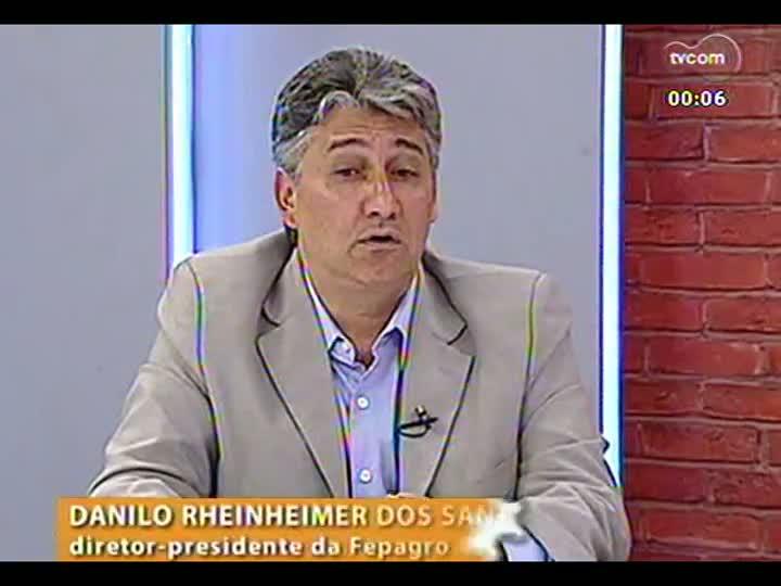 Mãos e Mentes - Diretor-presidente da Fepagro e membro da Academia Francesa de Agricultura, Danilo Rheinheimer dos Santos - Bloco 4 - 21/05/2013
