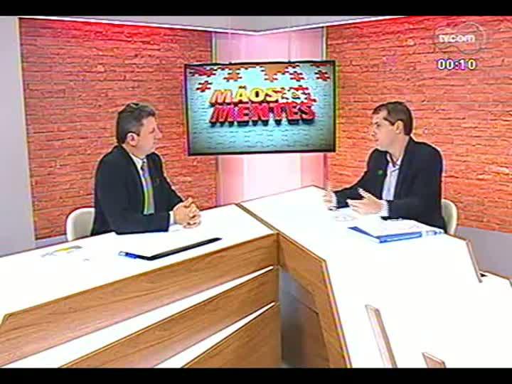 Mãos e Mentes - Pesquisador e chefe da Embrapa Clima Temperado, Clenio Pillon - Bloco 4 - 25/06/2013