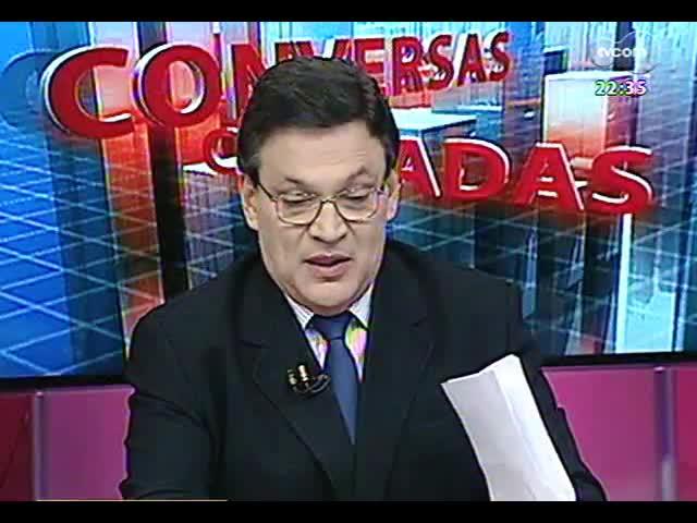 Conversas Cruzadas - Debate sobre o relatório final da CPI da Telefonia - Bloco 2- 04/11/2013