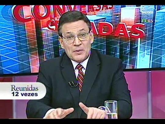 Conversas Cruzadas - Debate sobre o reajuste salarial dos rodoviários - Bloco 4 - 17/02/2014