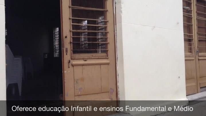 Escola pública de Porto Alegre tem ginásio interditado desde 2008. 21/03/2014