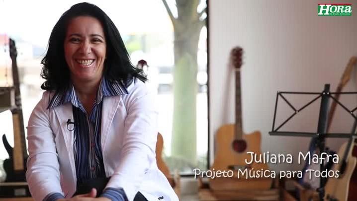 Conheça Juliana Mafra, candidata a Bela da Hora
