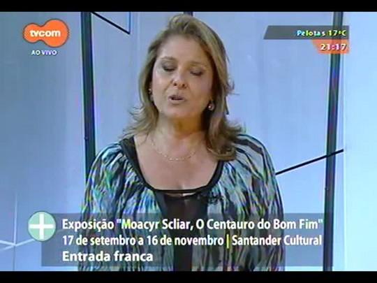 TVCOM Tudo Mais - Exposição homenageia Moacyr Scliar em Porto Alegre