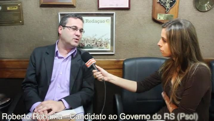 Fala Candidato: Roberto Robaina (PSOL)