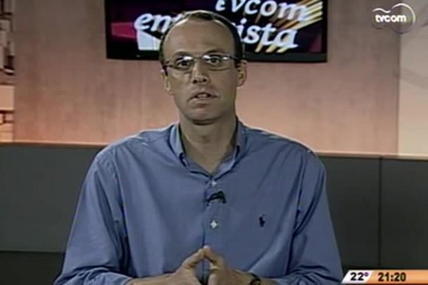 TVCOM Entrevista - Newton da Costa é conhecido como pensador da contradição - 1°Bloco - 15.11.14