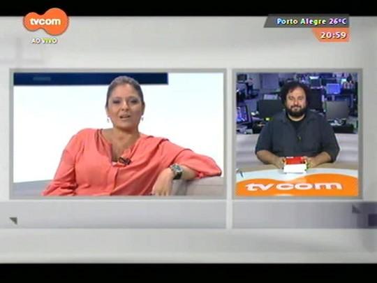 TVCOM Tudo Mais - Carlos André Moreira dá dicas de leitura - 26/11/2014