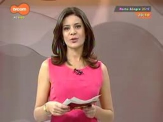 TVCOM 20 Horas - Repórter mostra a paisagem na viagem de catamarã - 27/11/2014