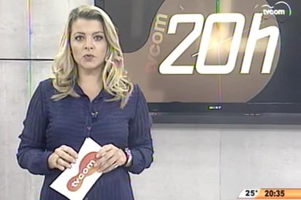 TVCOM 20 Horas - Impasse que impede a construção do Cepon, em Florianópolis, pode estar perto do fim - 22.05.15