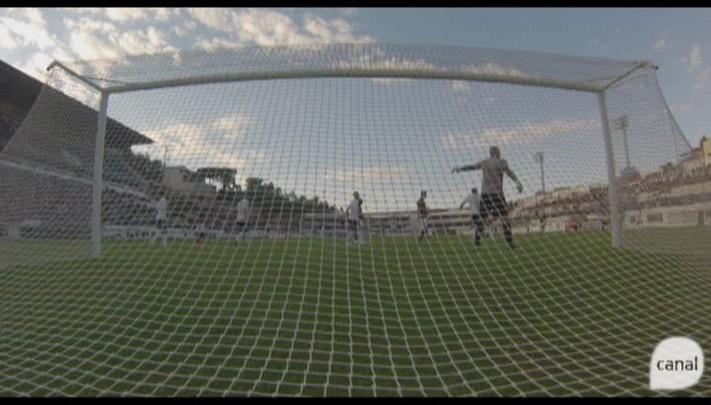 Confira o momento do gol do Caxias contra o Brasil de Pelotas