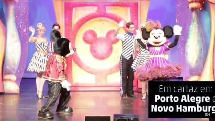 """Veja cenas do \""""Disney Live!\"""""""