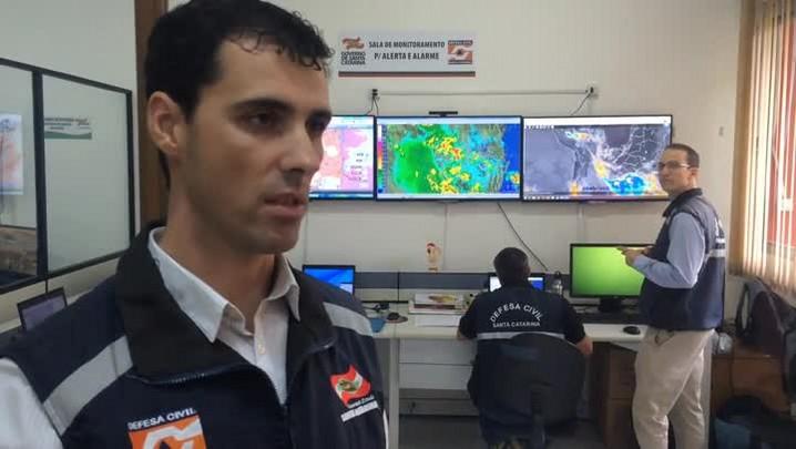 Defesa Civil de SC dá orientações de prevenção para as chuvas dos próximos dias