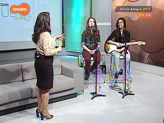 TVCOM Tudo Mais - Donna Duo faz show para apresentar o primeiro álbum \'Donna Duo\'