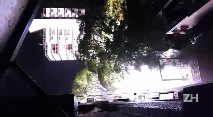 Transformador explode na Avenida Mariland