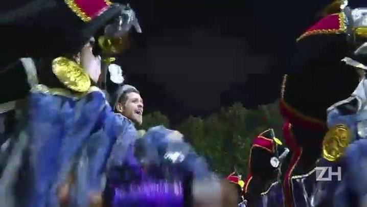 O primeiro dia de desfiles na Sapucaí