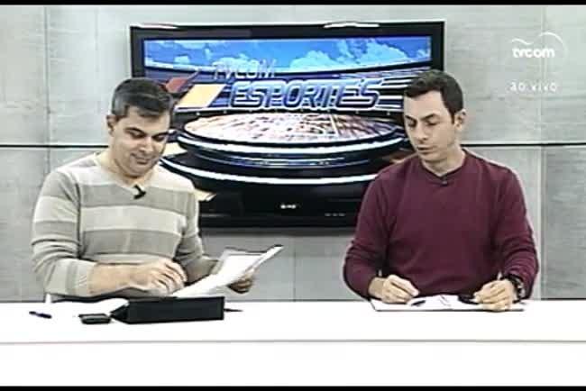 TVCOM Esportes. 1º Bloco. 26.05.16