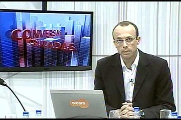 TVCOM Conversas Cruzadas. 3º Bloco. 27.05.16