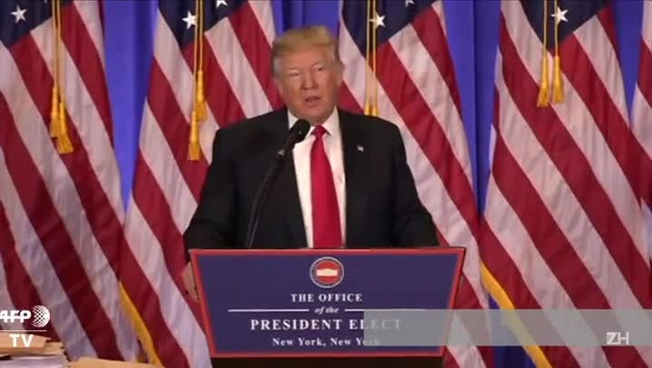 Trump concede 1ª entrevista após eleição