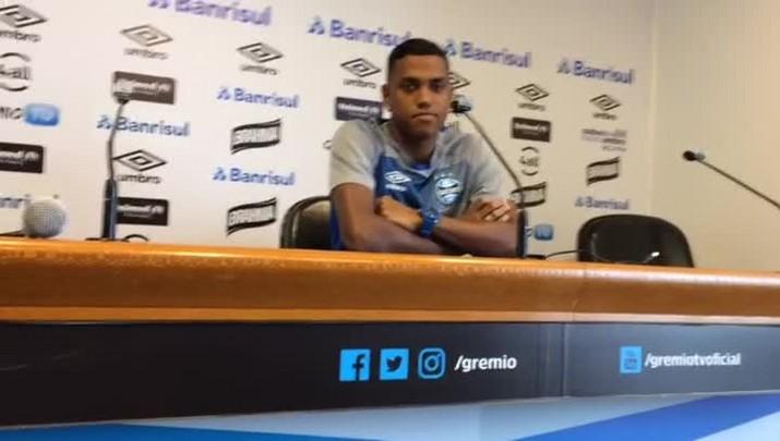 Pedro Rocha fala em vontade de seguir no Grêmio