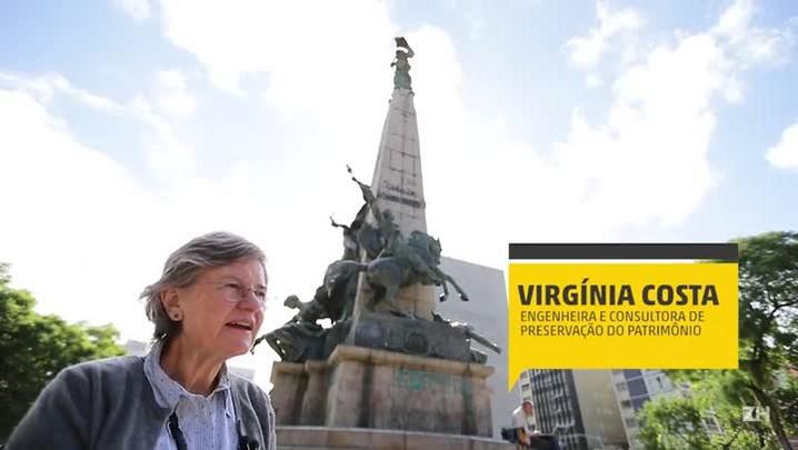 Monumento a Júlio de Castilhos passa por avaliação