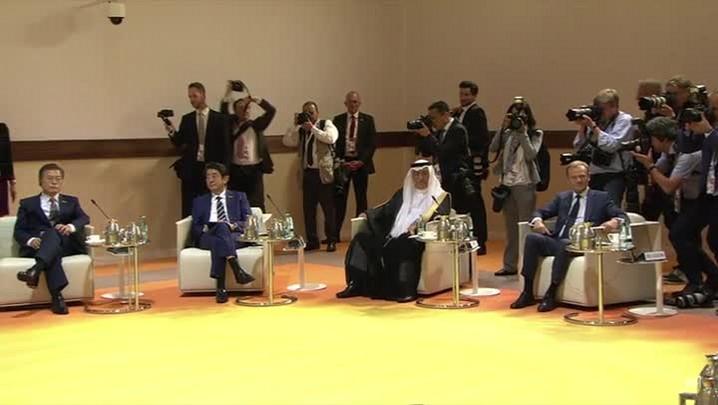 Começa reunião do G20 em Hamburgo