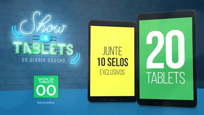 Show de Tablets Diário Gaúcho