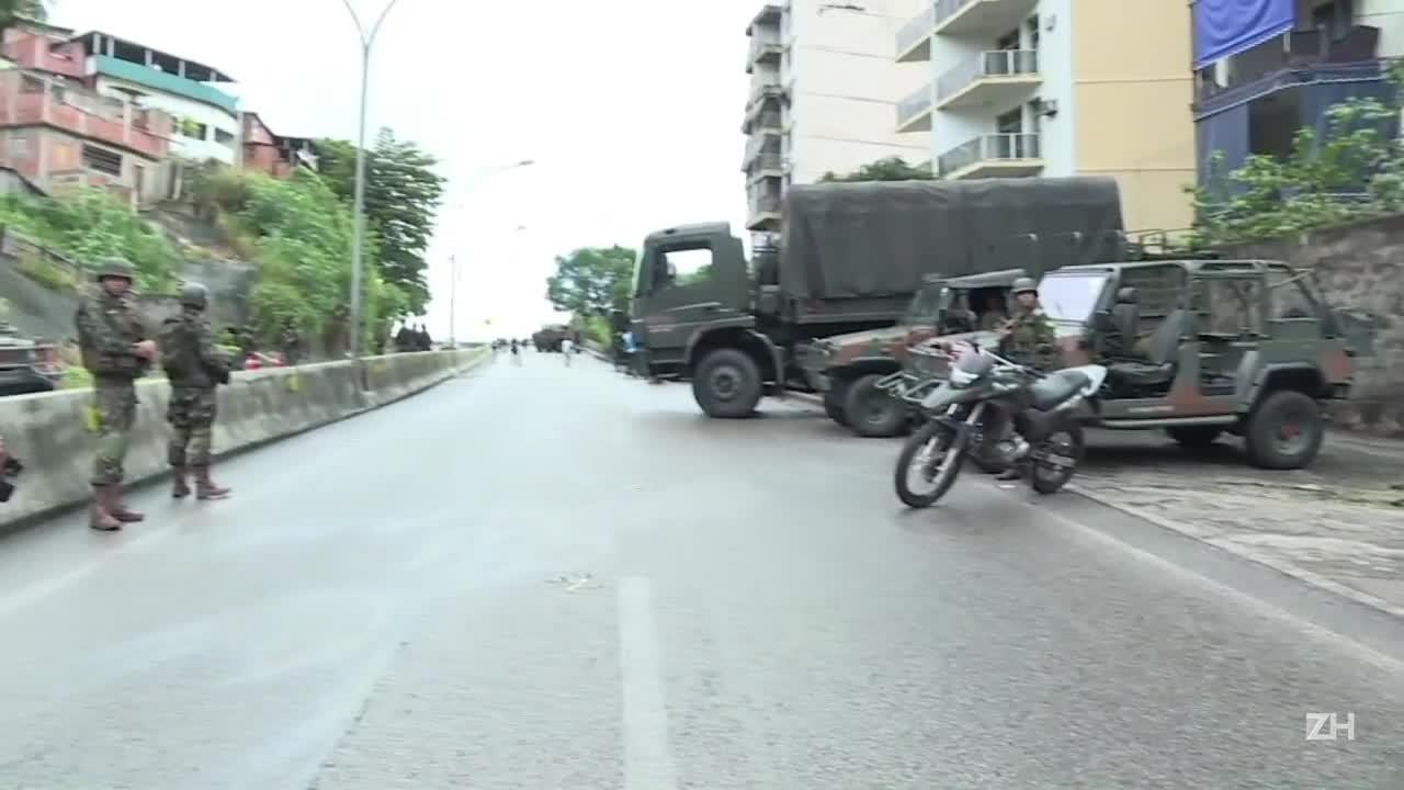 Megaoperação militar no Rio