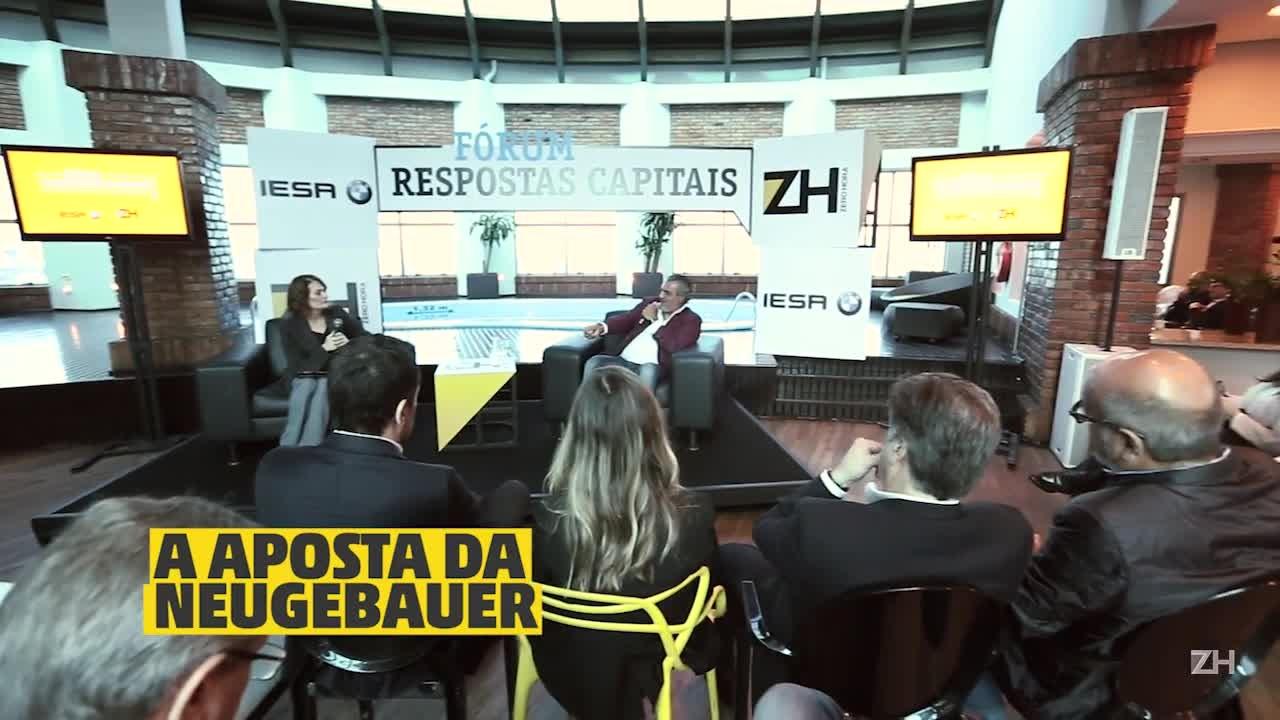 Fórum Respostas Capitais - Ricardo Vontobel: A aposta da Neugebauer