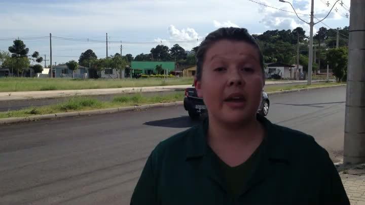 Moradora mostra otimismo com o anúncio do investimento em Guaíba