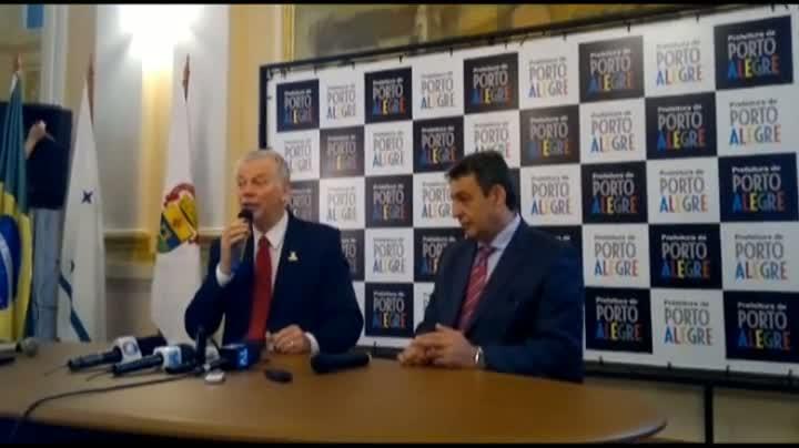 Prefeito de Porto Alegre, José Fortunati, anuncia nomes do novo secretariado