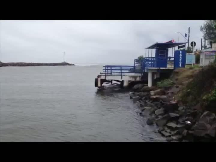 Fepam divulga praias impróprias para banho no estado. 21/12/2012