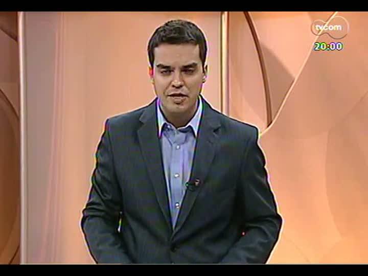 TVCOM 20 Horas - 01/01/13 - Bloco 1 - Confira como foi a posse do prefeito de Porto Alegre, José Fortunati