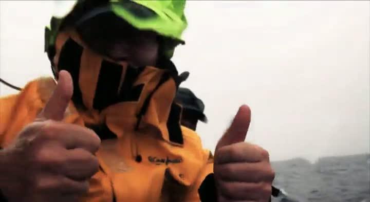 Volvo Ocean Race de volta a Itajaí