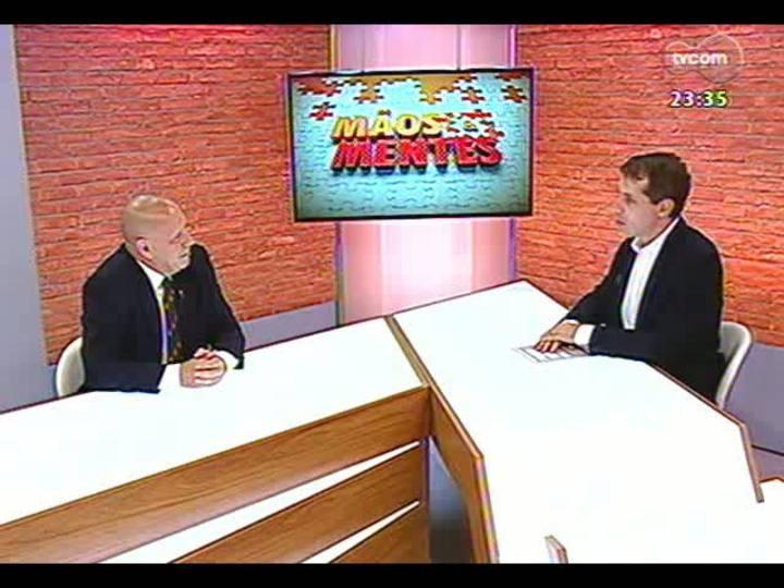 Mãos e Mentes - Palestrante, professor e doutor em Comunicação Dado Schneider - Bloco 1 - 22/01/2013