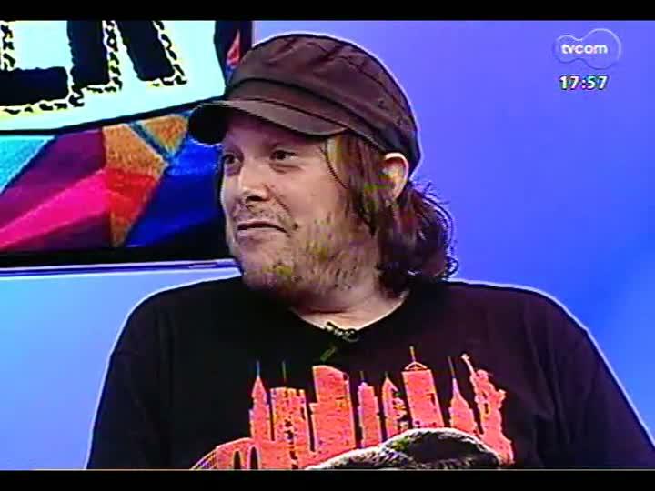 Programa do Roger - Beto Bruno fala sobre o projeto Discografia Rock Gaúcho - bloco 2 - 07/02/2013