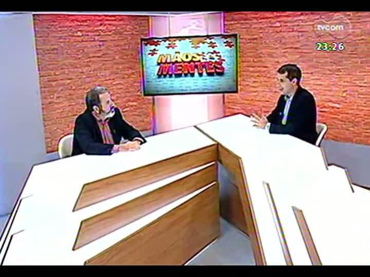 Mãos e Mentes - Presidente da ONG Que no se repita, José Iglesias - Bloco 3 - 03/03/2013