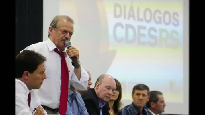 Em Carazinho, Tarso defende a Empresa Gaúcha de Rodovias (EGR)
