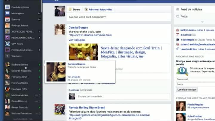 Conheça o novo feed do Facebook